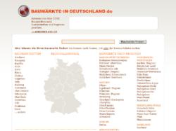 Baumärkte in Deutschland