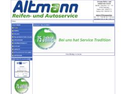 Altmann Reifenservice und Autoservice GmbH