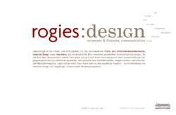 rogies:design _ Klare Kommunikationskonzepte und erstklassiges Design