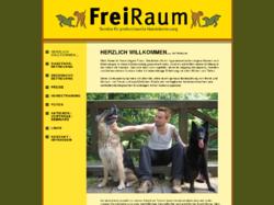 Freiraum - die professionelle Hundebetreuung