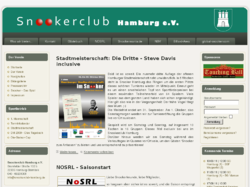 Snookerclub in Hamburg