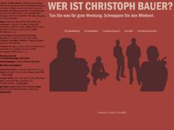 Christoph Bauer, freier Texter