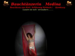 Bauchtänzerin Medina