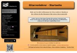 Gitarrenlehrer Hamburg