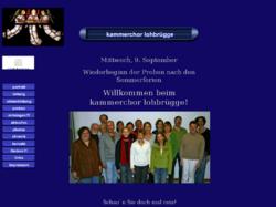 Kammerchor Lohbrügge
