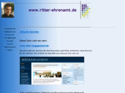 Thomas Ritter ehrenamtliches Engagement