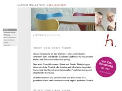 Ulrich Hollstein, Dipl.-Ing. Innenarchitekt