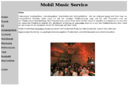 Mobil Music Service