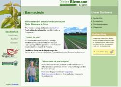 Dieter Biermann & Sohn Baumschulen, Pflanzenversand