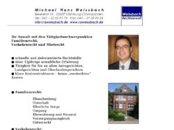 Rechtsanwalt Michael H. Weissbach