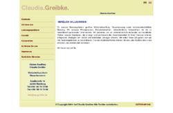 Claudia Greibke Wirtschaftsprüferin Steuerberaterin