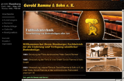 Gerold Ramme & Sohn e. K. Fussbodentechnik