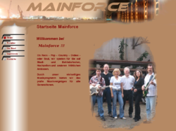 Livemusik mit Mainforce