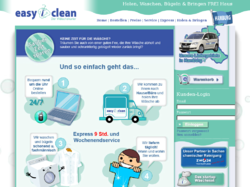 easy&clean - Ihr Wäscheabholdienst