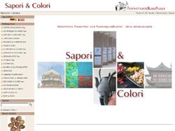Sapori & Colori Teeversandkaufhaus