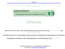 Andreas Schwarz  Dienstleistungen von A - Z