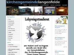 Kirchengemeinde Langenfelde