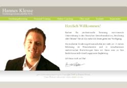 Hannes Klesse Ernährungswissenschaftler B.Sc.