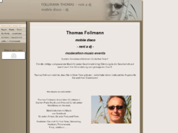 Rent a dj, Follmann Thomas, Mobile Disco