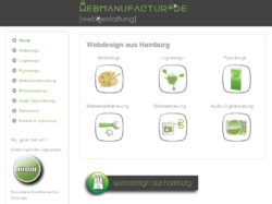 Stilvolles Webdesign aus Hamburg