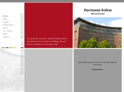 Hartmann Kühne, Steuerberater