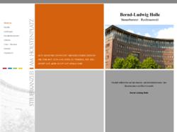 Bernd-Ludwig Holle, Steuerberater und Rechtsanwalt