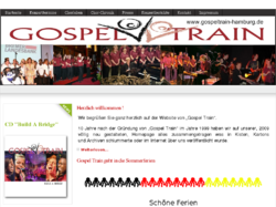 Gospel Train - Hamburg