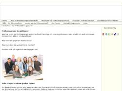 pruefungsangst.de - kompetente Hilfe bei Prüfungsangst