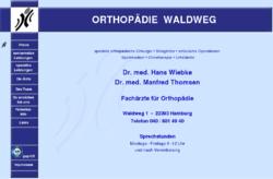 Orthopädie Waldweg