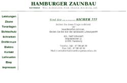 Hamburger Zaunbau