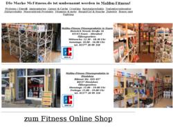 McFitness.de Spotlernahrung Shop Hamburg