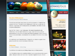 Ortmann Billards - Pool, Snooker and more