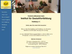 Institut für Gestaltfortbildung Hamburg e.V.
