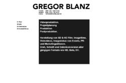 Gregor Blanz Videoproduktion