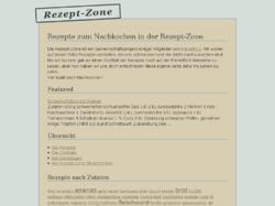 Rezept Zone