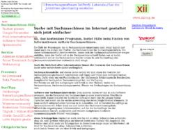 Suchmaschinen & Suchmaschinen-Hilfe