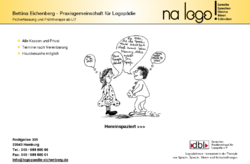 Bettina Eichenberg na logo! Praxis für Logopädie