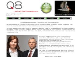 Q8 ...mehr als Qualitätsmanagement, Kerstin Kind, Jürgen Meese, Partnerschaft, Ingenieure