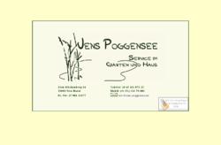 Jens Poggensee - Service im Garten, Haus & Büro