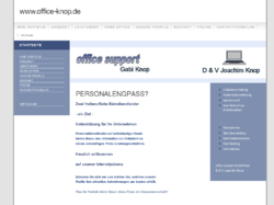 office support Gabi Knop und D & V Joachim Knop