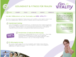 Mrs.Vitality Fitness-Studio-Alternative für Frauen