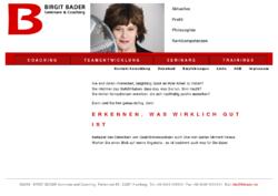 Birgit Bader Seminare und Coaching