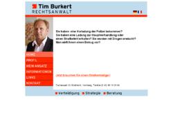 Tim Burkert Rechtsanwalt
