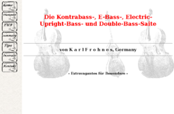 E-Kontrabass, E-Bass: Selbstbau Electric Upright Bass, Tipps EUB