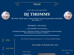 DJ Thommy Hamburg, DJ Hochzeit DJ Hamburg DJ Geburtstag
