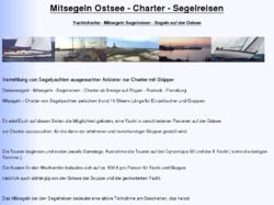 Mitsegeln auf Yachten mit Skipper auf der Ostsee