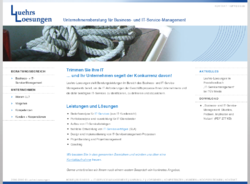 Luehrs-Loesungen Unternehmensberatung für Business- und IT-Service-Management - Service Level Agreements, IT-Serviceverträge, ITIL