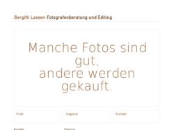 Bergith Lassen, Fotografenberatung & Editing