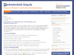 Markentechnik-Blog.de: Magazin für Markenführung, Branding und Marketingstrategie