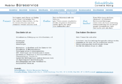 Büroservice Hamburg  - mobil -  SchreibStube Cornelia Hönig